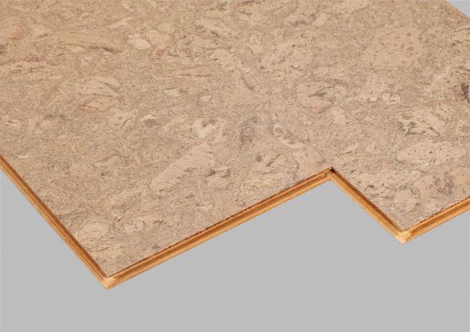 表面有树脂耐磨层的软木地板同复合地板的护理一样简单.