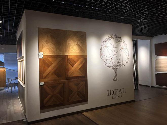 意大利 IDEAL LEGNO 展区